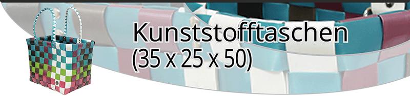 Kunststofftaschen (35x25x50)