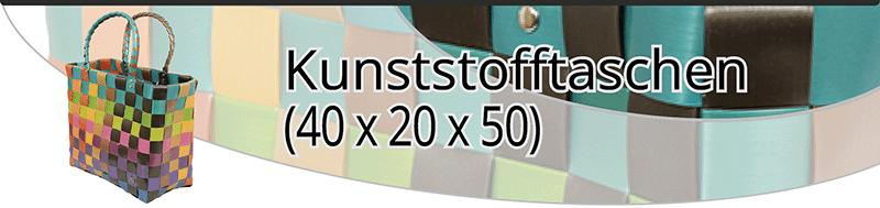 Kunststofftaschen (40x20x50)