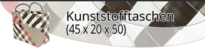 Kunststofftaschen (45x20x50)