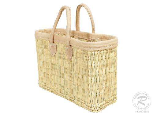 Handtasche Korbtasche robuste Tasche (38x15x40)