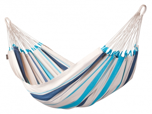LA SIESTA - Single-Hängematte CARIBEÑA aqua blue