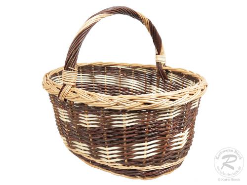Einkaufskorb Handkorb Weide Korb ungefüttert (51x41x45)