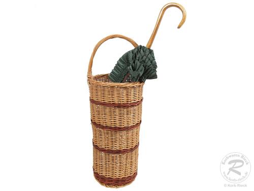 Regenschirmständer, Spazierstockständer aus Weide (D:26)