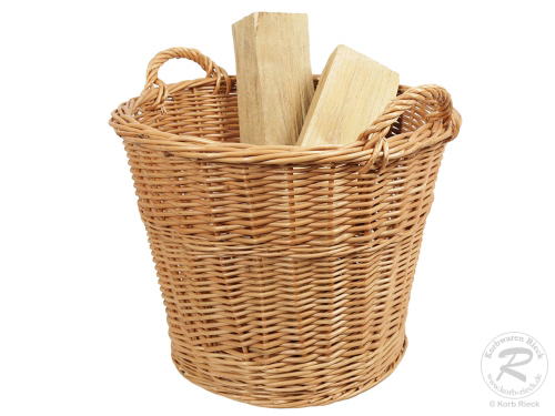 Holzkorb, Tragekorb, Pflanzkorb, Gartenkorb, Korb ungefüttert (D:51)
