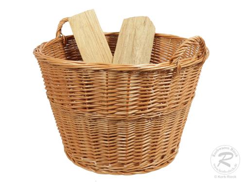 Holzkorb, Tragekorb, Pflanzkorb, Gartenkorb, Korb ungefüttert (D:60)