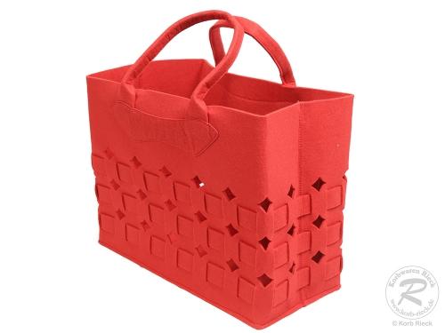 Filztasche, Handtasche, Trachtentasche, Filz Tasche (37x19x30)
