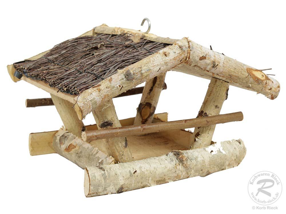 vogelfutterhaus aus holz. Black Bedroom Furniture Sets. Home Design Ideas