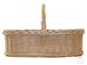 Tablett aus Weide, Trage - Korb - Tablett (52x38x15/38)