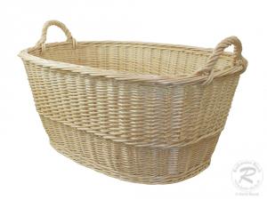 Wäschekorb aus Weide Korb für Wäsche deutsche Fertigung Größe 5
