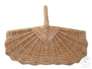 Einkaufskorb Handkorb Weide Korb ungefüttert (46x34x33)