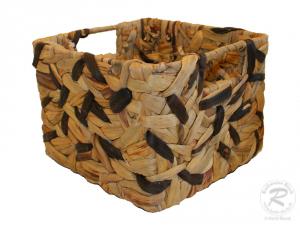 Regalkorb, Schrankkorb, Dekokorb, Größe 1 (23x23x17)
