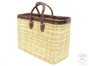 Handtasche Korbtasche robuste Tasche (42x18x30/42)