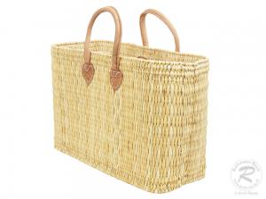 Handtasche Korbtasche robuste Tasche (45x18x32/45)