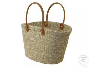 Handtasche Korbtasche Tasche aus Seegras (48x22x48)