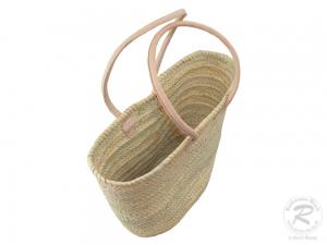 Handtasche Korbtasche robuste Tasche Natur (50x20x35)