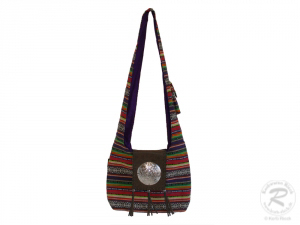 Schultertasche Tasche aus Baumwolle DIN A4 geeignet