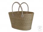 Handtasche Korbtasche robuste Tasche aus Seegras