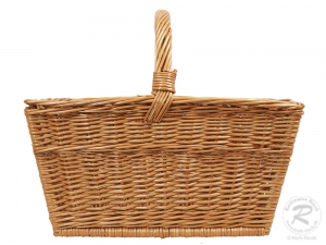 Einkaufskorb Holzkorb Handkorb Weide Korb (50x36x44)