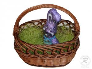 Osterkorb, Osternest, Kinder Korb ungefüttert aus Weide
