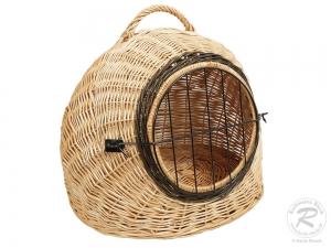 Transport Korb aus Weide Katzenkorb , Korb für Tiere z.B. Katzen