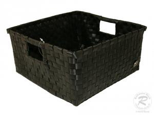 Regalkorb, Dekokorb aus Kunststoff (29x29x15)