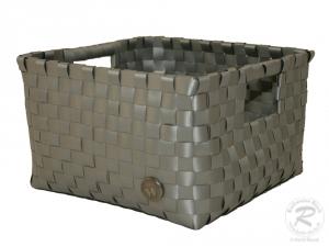 Regalkorb, Dekokorb aus Kunststoff (22x22x14)