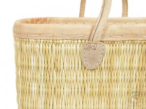 Handtasche Korbtasche robuste Tasche (46x18x46)