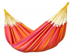 LA SIESTA - wetterfeste Single-Hängematte SONRISA mandarine max. 120kg