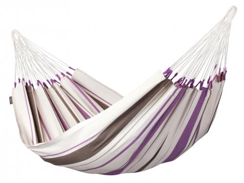 LA SIESTA - Single-Hängematte CARIBEÑA purple