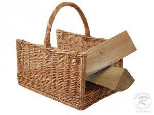 Holzkorb Korb Tragekorb aus gesottener Weide