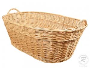 Wäschekorb aus Weide. Korb für Wäsche (97x58x37)