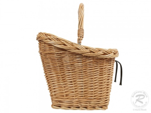 Fahrradkorb für den Lenker Einkaufskorb Handkorb Weide (50x37x42)