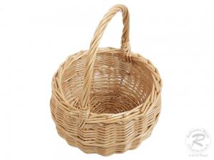 Kinder Einkaufskorb Handkorb Weide Korb ungefüttert (D:15)