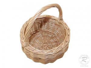 Kinder Einkaufskorb Handkorb Weide Korb ungefüttert (D:12)