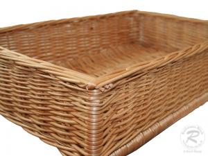 Regalkorb, Schrankkorb, Dekokorb, Korb Box (60x40x14)