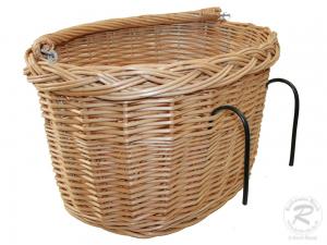 Fahrradkorb für den Lenker Einkaufskorb Handkorb Weide (41x34x24)