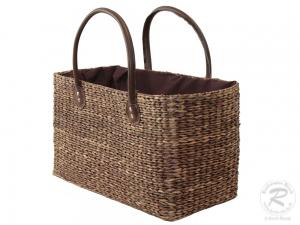 Handtasche Korbtasche robuste Tasche (41x22x43)