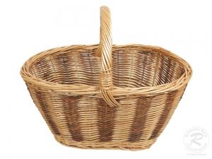 Einkaufskorb Handkorb Weide Korb ungefüttert (51x38x41)