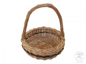 Kinderkorb Deko Korb aus Weide ungefüttert (D:16)
