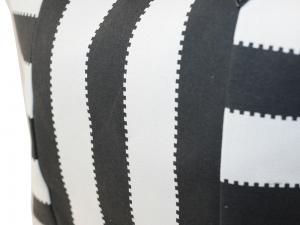Schultertasche, Handtasche, Umhängetasche gestreift (38x16x35)