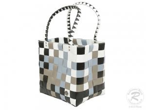 Kunststofftasche moderne Tasche aus Kunststoff (30x20x48)