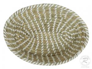 Brotkorb, Korbschale, Dekokorb aus Seegras (35x25x9)