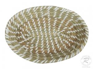 Brotkorb, Korbschale, Dekokorb aus Seegras (32x22x8)