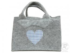 Filztasche, Handtasche, Trachtentasche, Filz Tasche (28x14x20)
