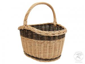 Einkaufskorb Handkorb Weide Korb ungefüttert (44x36x45)