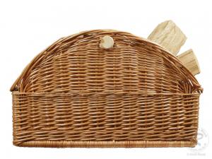 Holzkorb Korb Tragekorb aus gesottener Weide (60x43x36)
