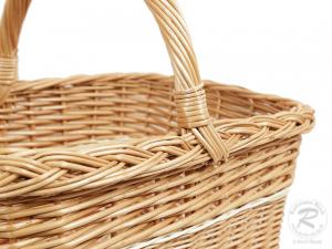 Einkaufskorb Handkorb Weide Korb ungefüttert (47x36x39)