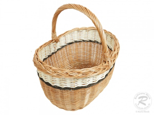 Einkaufskorb Handkorb Weide Korb ungefüttert (42x33x32)