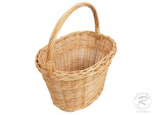 Einkaufskorb Handkorb Weide Korb ungefüttert (40x29x43)