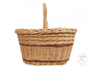 Einkaufskorb Handkorb Weide Korb ungefüttert (43x30x40)